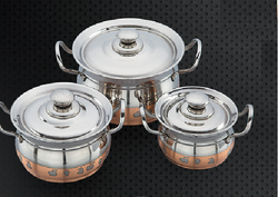 Coppery Design Cookware