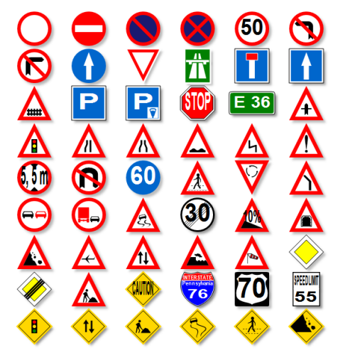 Signages - Road Safety Sign Boards Manufacturer from Hyderabad
