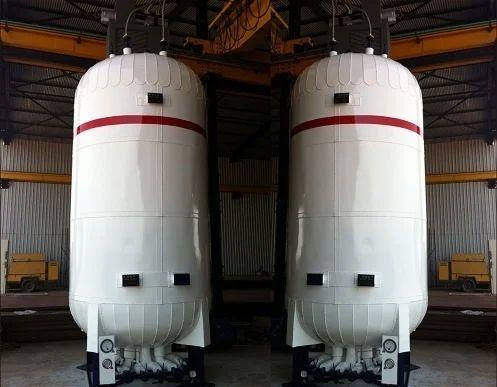 Co2 Tank 120 Kl Liquid Co2 Vertical Tank Manufacturer