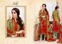 Batik Fancy Cotton Suit