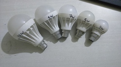 All Watt LED Bulb Plastic Body