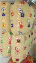 Net Mirror Work Fabrics