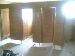 Bathroom PVC Partitions