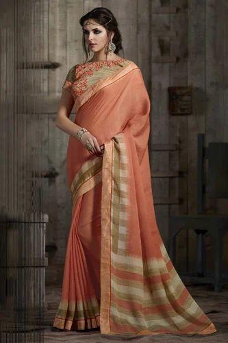 Cotton Trendy Saree