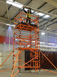 FRP Mobile Ladders
