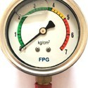 0-21 Kg/cm2 Bottom Connection Pressure Gauges