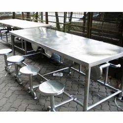 Steel Dining Table In Thane Steel Ki Khana Khane Wali Mej