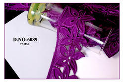 Fancy Designer And Indian Purple Chemical Lace