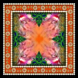 Digital Printed Designer Cotton Fabric