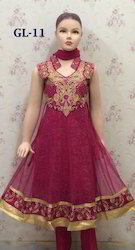 Girls Indian Wear - Kids Anarkali Suits