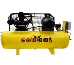 COBCAT Air Compressor Two Stage, Base Mount, CAT100T