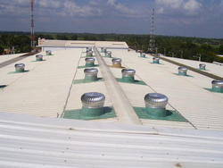 SS Wind Turbine Ventilators