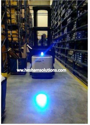 Blue Led Forklift Safety Spotlight 6w At Rs 4500 Piece