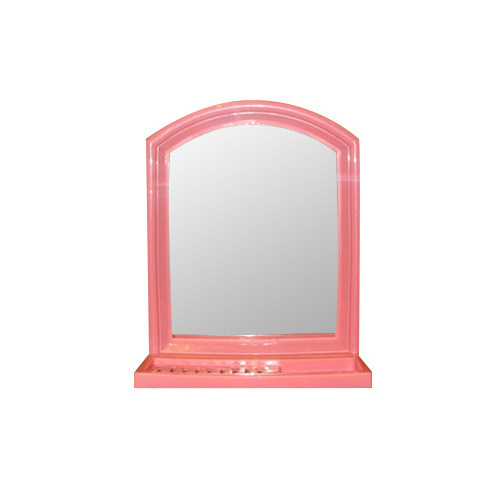 Unique  24 In X 18 In Framed Wall Mirror In WhiteHD16650  The Home Depot