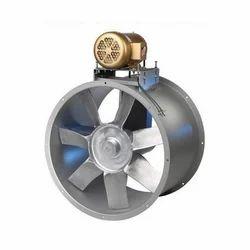 V  Belt Driven Axial Flow Fan
