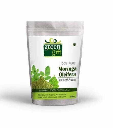 Certified Moringa Leaf Powder 80 Mesh