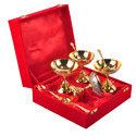 Brass Antique Bowl Set