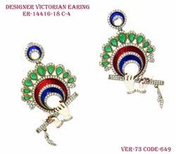 Fancy Victorian Murli Earring