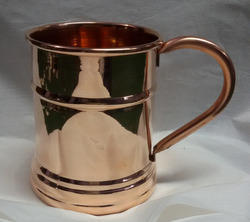 16oz BPA Free Solid Copper Moscow Mule Mug