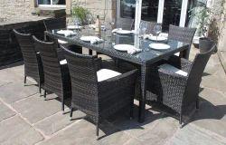 Garden Wicker Dining Set