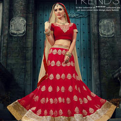 Red Ghagra Choli