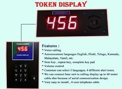 Counter Token Display System