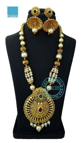 Pendant sets ethnic pendant set exporter from mumbai aloadofball Image collections