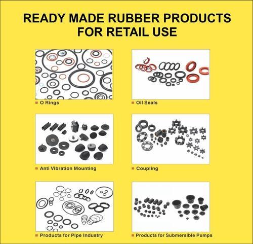 Ready Made Rubber Products for Retail Use