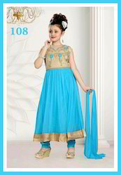Ferozi Blue Trendy Kids Suits