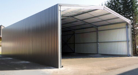 Industrial Sheds Amp Structure Sheet Metal Industrial Shed