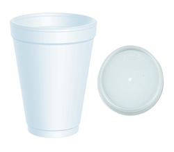 Foam Cups with Lid
