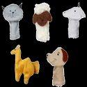 Domestic Animals Set - 2 Finger Puppet