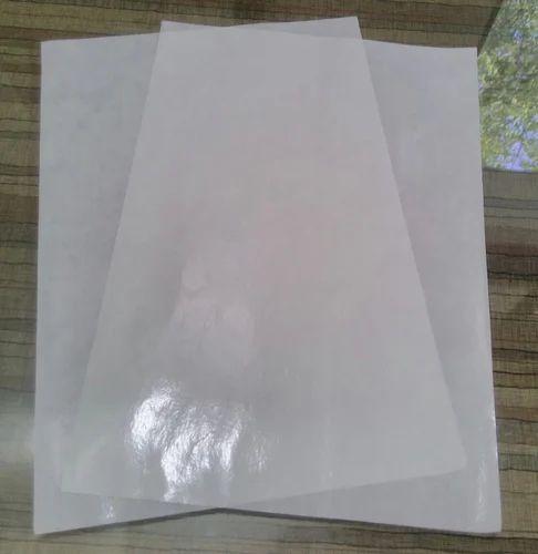 62GSM Glassine Release Paper