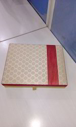 Brocade Fabric Covered Boxes For Candy , Sweets, Chocolates