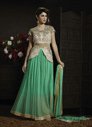 topnotch party wear georgette anarkali suits
