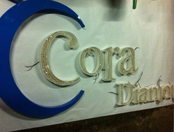 Crystal 3D Letter Board