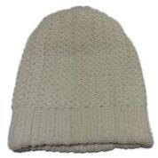 white colour winter cap