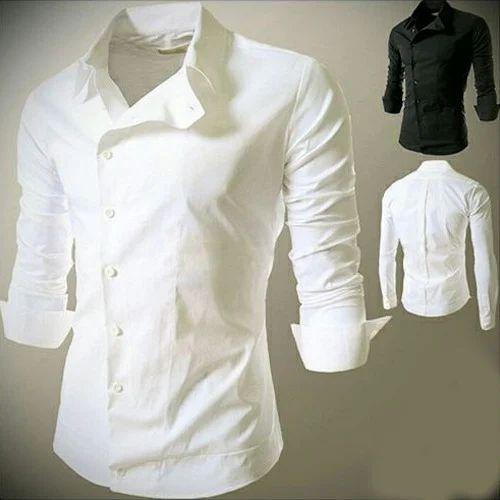 Plain Cotton Shirt - Mens Plain White Cotton Shirt Wholesale ...
