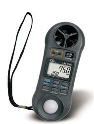 Anemometer, Humidity Light Meter, Thermometer LM8000