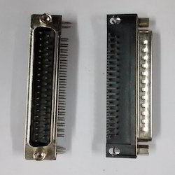 37- Pin- D Type- Right- Angle Connector