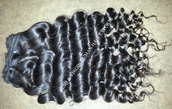 Human Curly Hair Extension