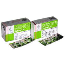 Acarbose 25mg, 50mg Tablets