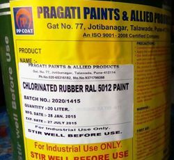 Chloronated Rubber Base Paint