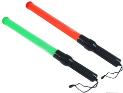 Traffic Baton Green & Red