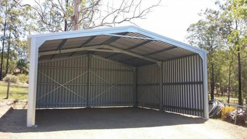 Exceptional Open Garage Shed