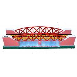 Lattice Bowstring Girder Bridge - Model