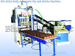 fully automatic fly ash bricks making machine with vibro