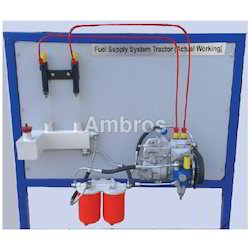 4 Cylinder Diesel Engine Fuel Supply System