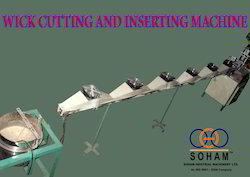 Wick Cutting and Assembling Machine