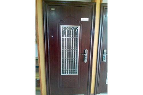 Safety door wooden safety door wholesale trader from delhi - Safety wooden door designs ...